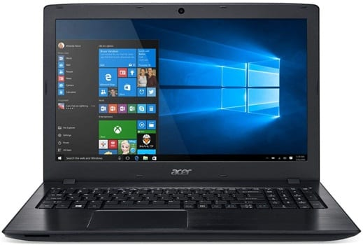 Acer Aspire E5-576G-81GD - laptops with 8gb ram and 4gb graphic card