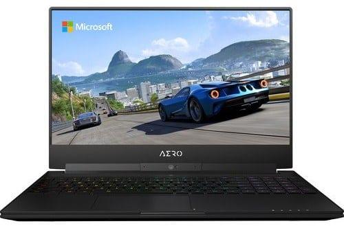Gigabyte Aero 15W - best laptop for 3d modeling and rendering