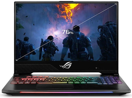Asus ROG Strix Hero II - strategy games for laptop