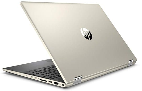 HP Pavilion X360 - best lightweight 2 in 1 laptop