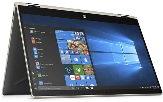 HP Pavilion X360 - i7 laptop under 700