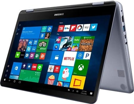 Samsung Notebook 7 Spin NP730QAA - best 14 inch 2 in 1 laptop